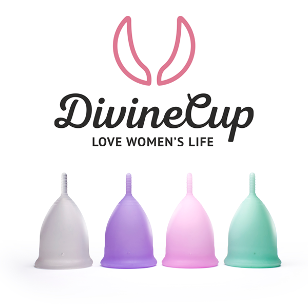 DivineCup - the new menstrual cup...