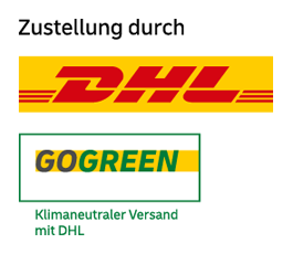 Bloodmilla Versandmethoden DHL GOGREEN