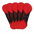 panty liner RED/BLACK, or BLACK