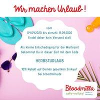 - Bloodmilla macht Urlaub September 2020