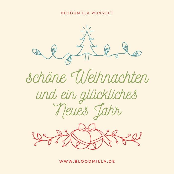 - Bloodmilla Stoffbinden und Slipeinlagen Weihnachtsgrüße