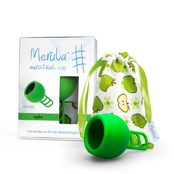 Merula Menstruationstasse apple