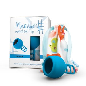 Merula Menstruationstasse mermaid