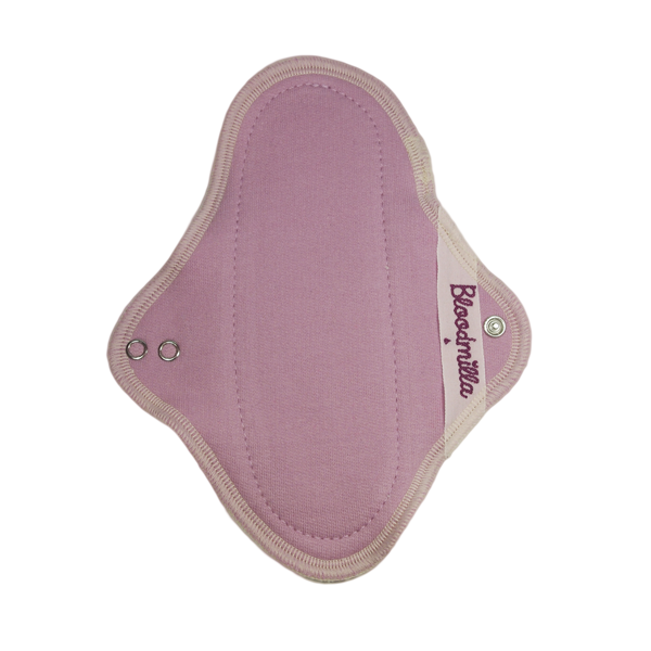THONG panty liner LILAC / ERCU with wings washable