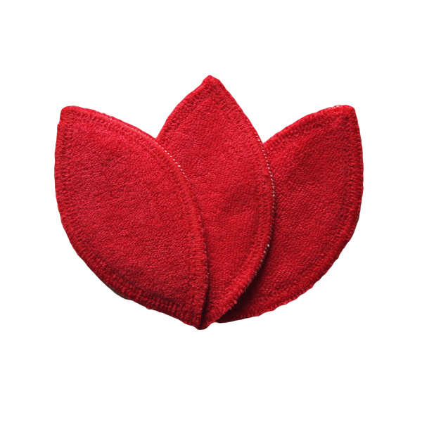 VULVI interlabial pad STRONG RED