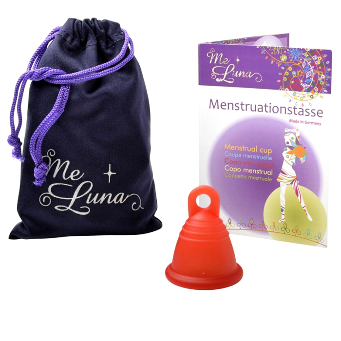 Me Luna SHORTY Menstruationstasse
