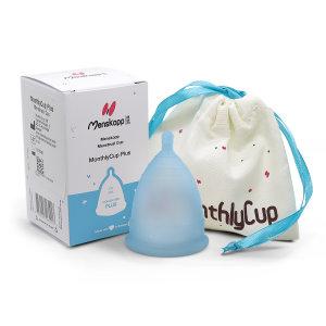 Menstruationstasse MonthlyCup PLUS BLAU