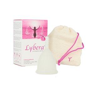 Menstruationstasse Lybera Gr.1 transparent