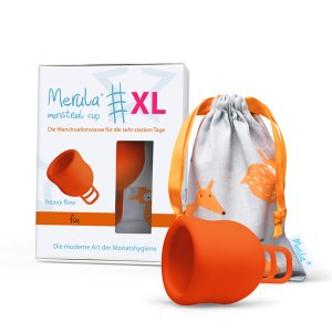 Merula Menstruationstasse Fox XL
