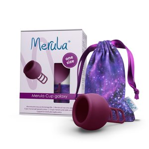 Merula Menstruationstasse galaxy