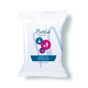 Merula wipes -  Reinigungstücher für...