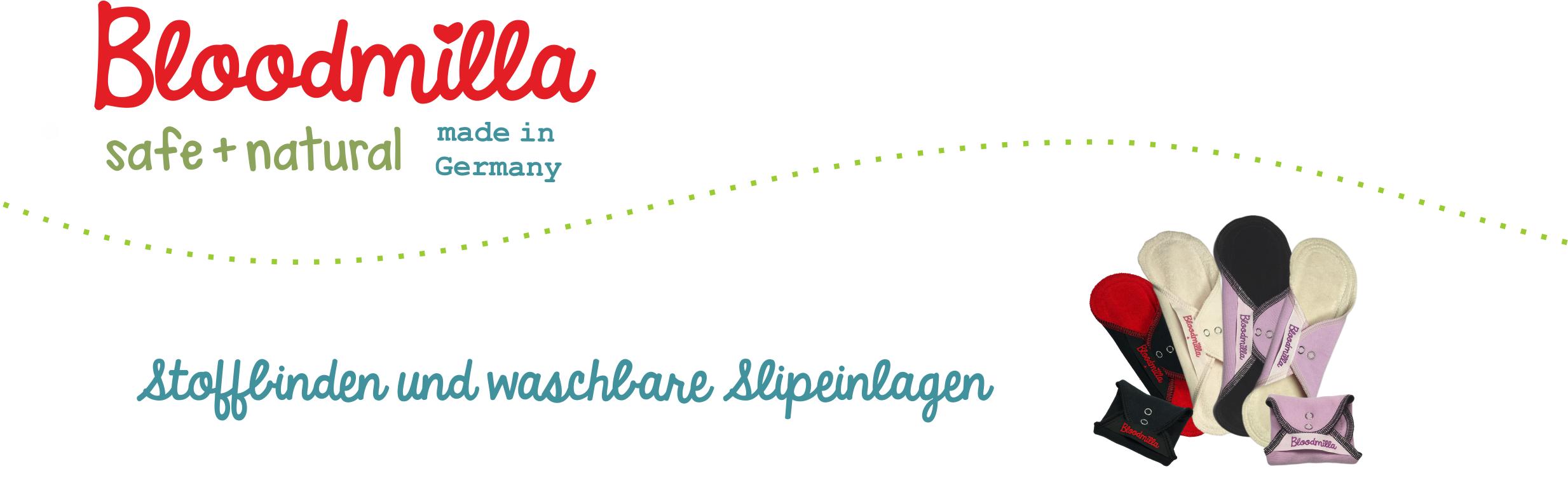 Anwendung und Pflege von Bloodmilla Stoffbinden und waschbaren Slipeinlagen